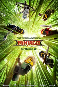 LEGO Ninjago Movie 3D, The Poster