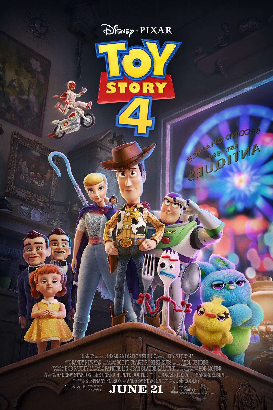 Poster of Toy Story 4 in Disney Digital 3D
