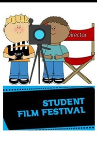 Camas School District Student Film Festival Poster