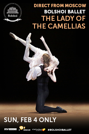 Bolshoi Ballet 2017-18  The Lady of the Camellias