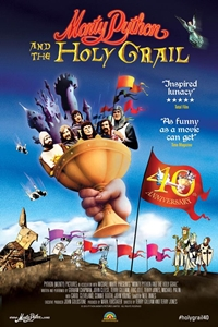 Poster of Monty Python and the Holy Grail Sing-A-Long (40th