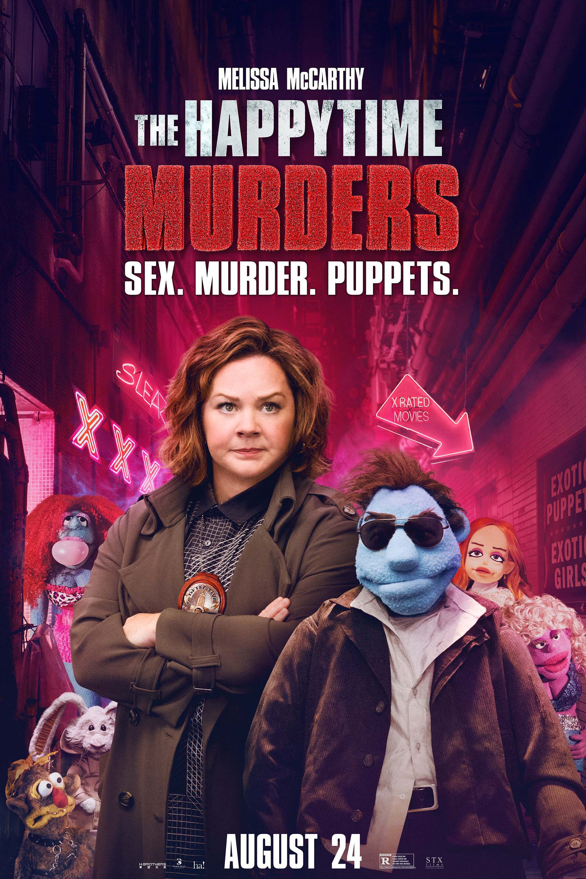 the happytime murders - west wind drive-in