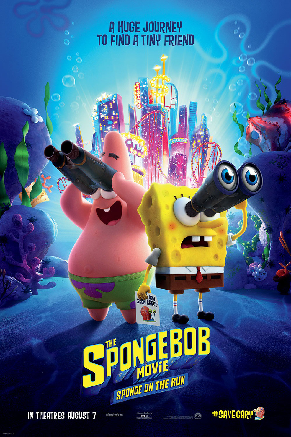 Poster of SpongeBob Movie: Sponge On The Run, The