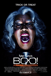 Poster for Tyler Perry's Boo! A Madea Halloween (2016)