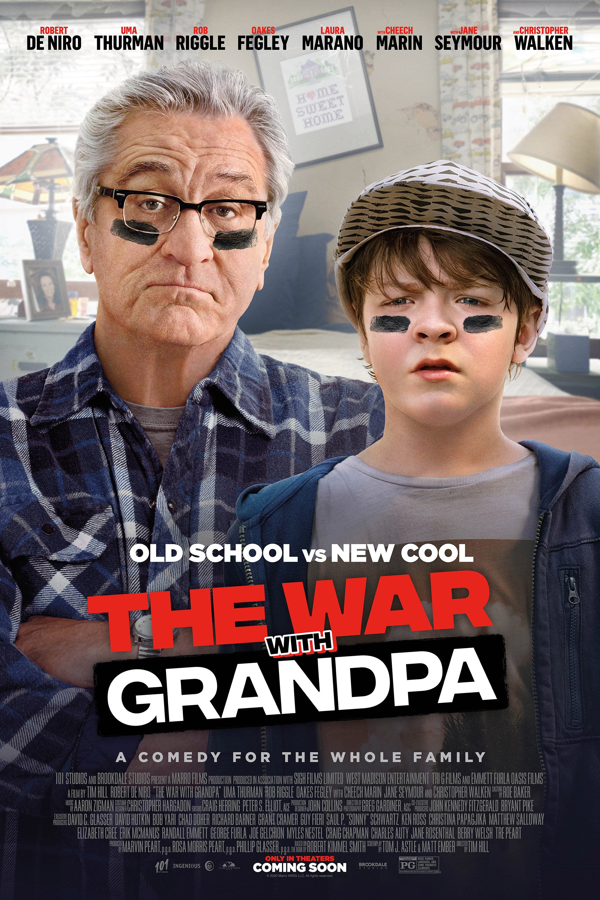 War With Grandpa, The Poster
