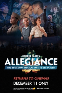 Poster of George Takei's Allegiance