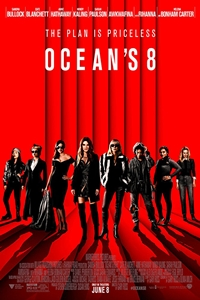 Caption Poster for Ocean's 8