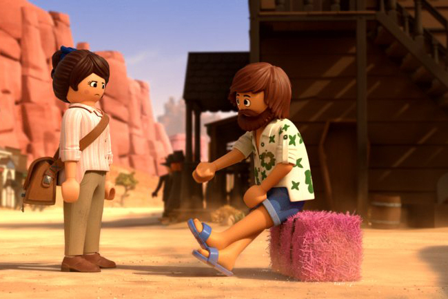 Background Still for Playmobil: The Movie