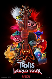 Poster ofTrolls World Tour