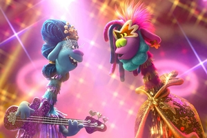 Still 1 for Trolls World Tour