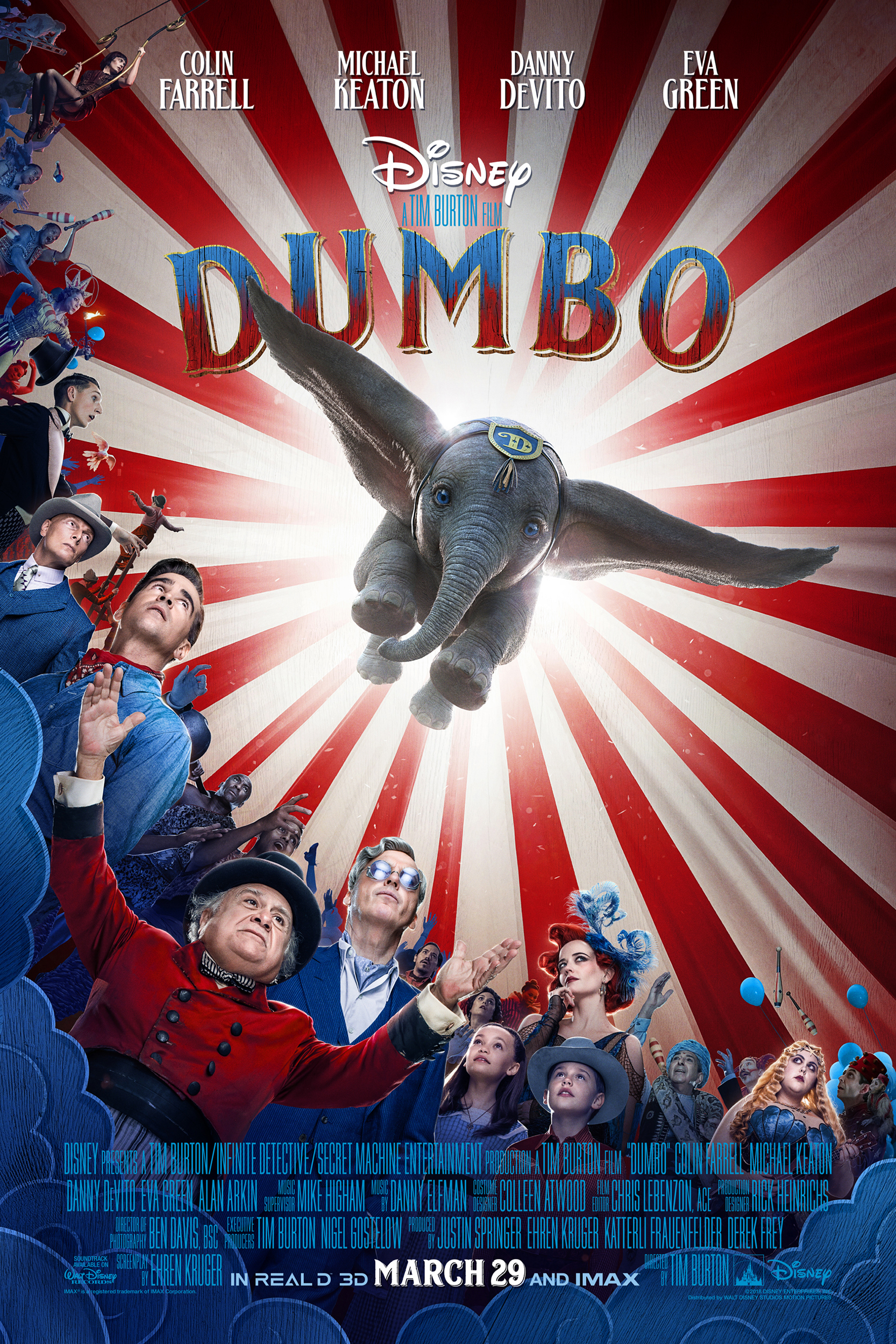 Poster ofDumbo 3D