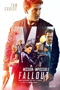 Poster for Mission: Impossible - Fallout