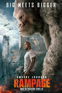 Rampage: The IMAX 2D Experience Poster