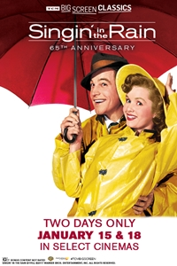 Singin' in the Rain 65th Anniversary (1952) presented by TCM Poster