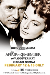 Affair To Remember 60th Anniversary 1957 Presented By Tcm An Trailer Info Paragon Theaters
