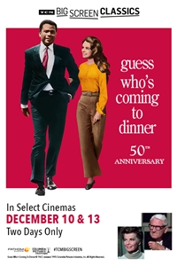 Poster for Guess Who's Coming to Dinner 50th Anniversary (1967) presented by TCM