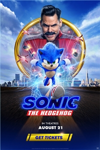 Poster ofSonic The Hedgehog