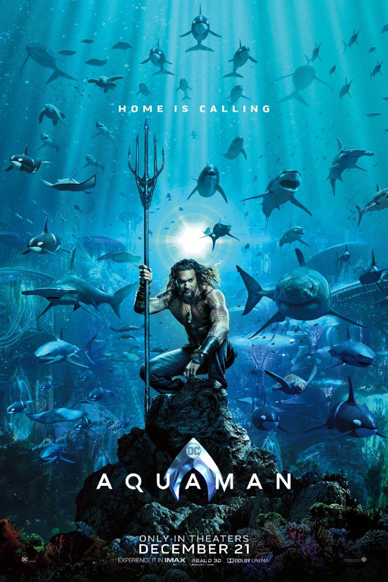 Poster of Aquaman 3D