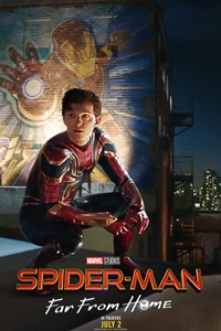 Caption Poster for Spider-Man: Far from Home