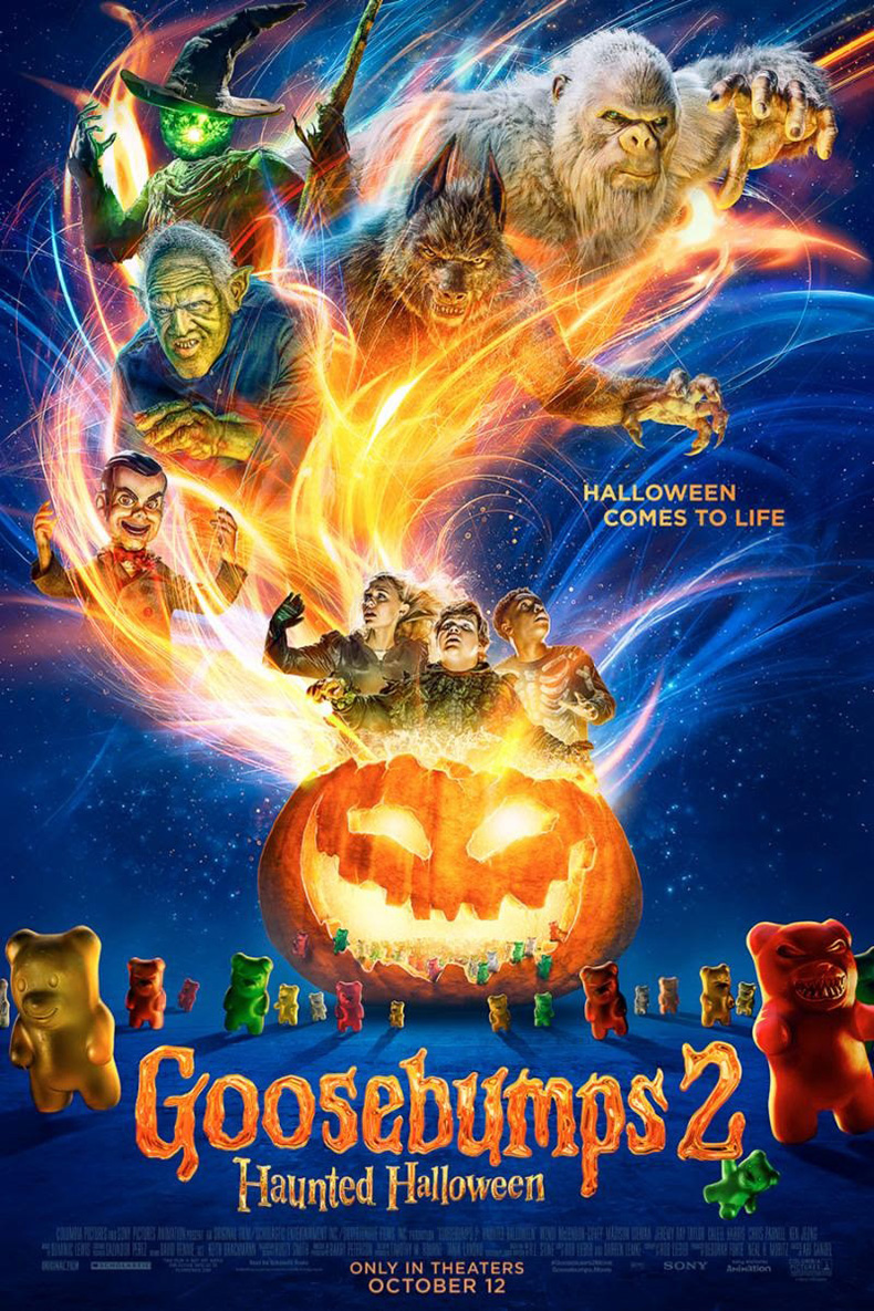 goosebumps 2: haunted halloween - west wind drive-in