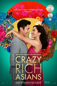 Caption Poster for Crazy Rich Asians