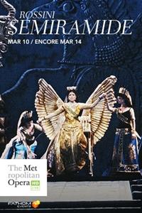 The Metropolitan Opera: Semiramide Poster