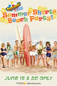 Poster of RiffTrax Live: Summer Shorts Beach Party!