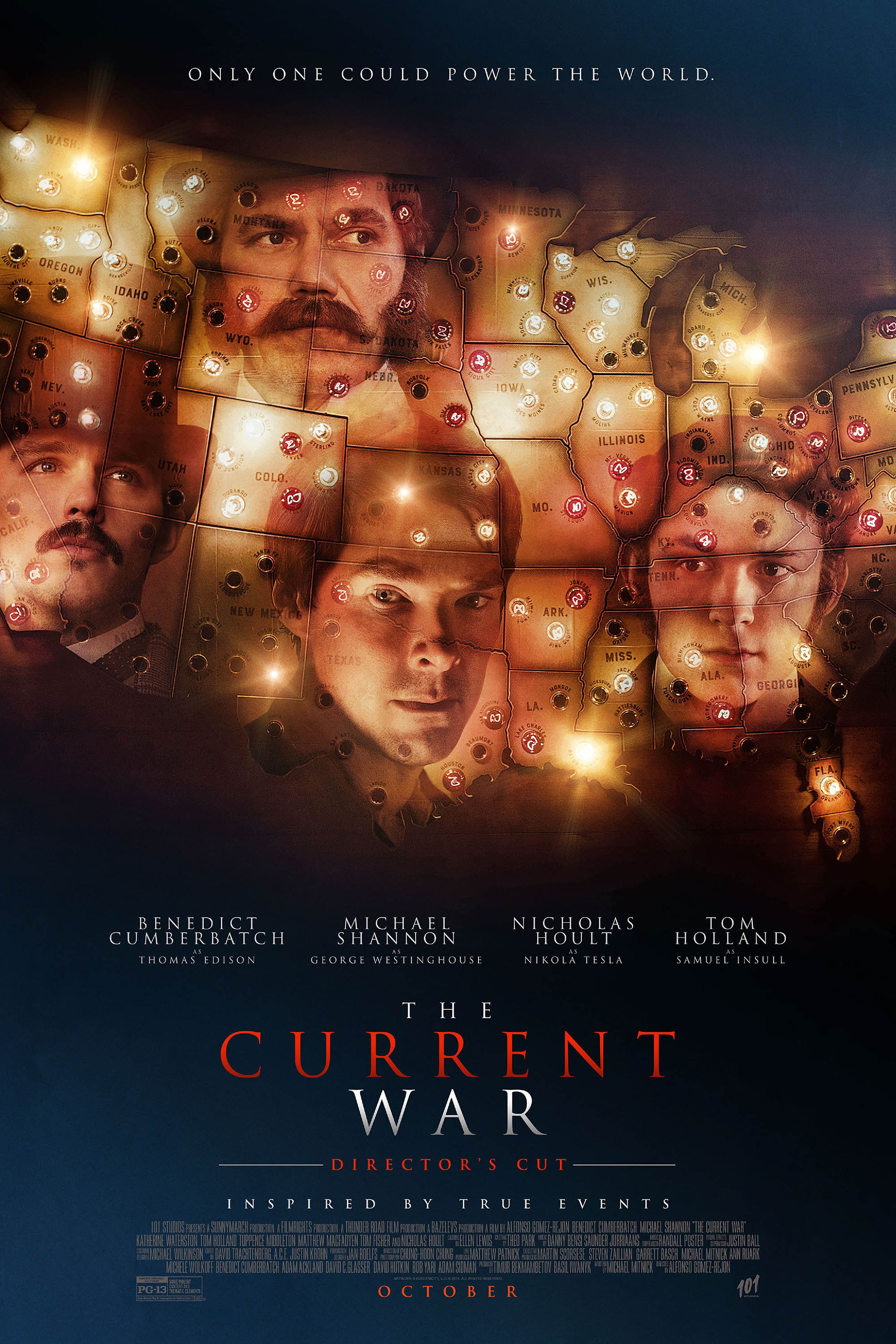Poster of Current War- Director's Cut, The