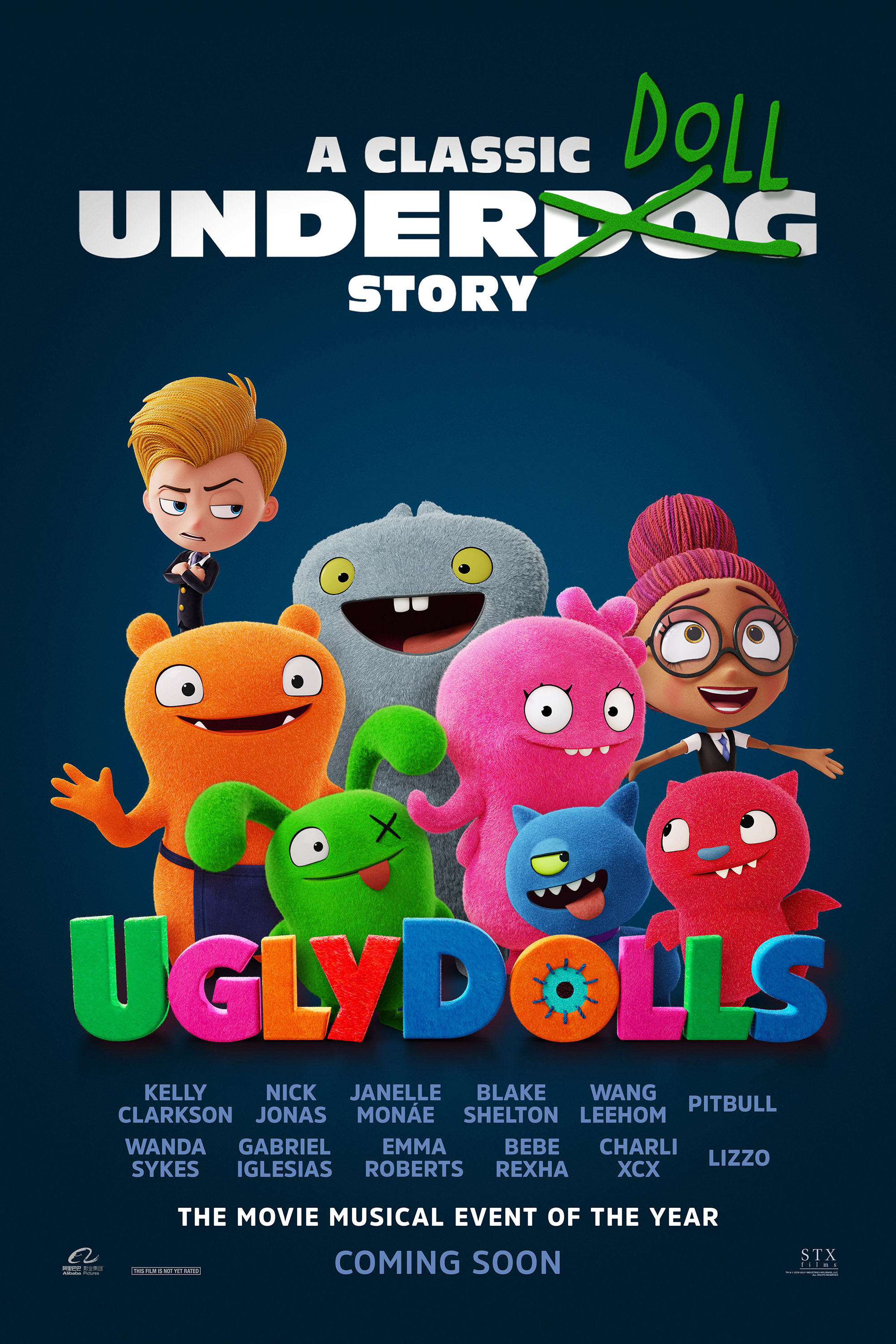 Poster of UglyDolls