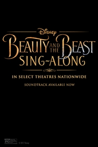 Disney's Beauty and the Beast Sing-Along Poster
