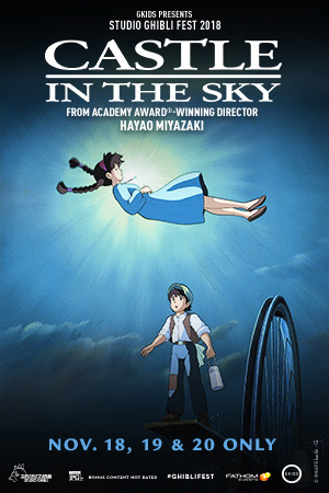 Castle in the Sky-Studio Ghibli Fest Poster