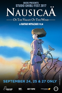 Poster for Nausicaä of the Valley of the Wind - Studio Ghibli Fest 2017