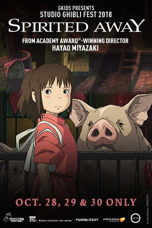 Spirited Away-Studio Ghibli Fest