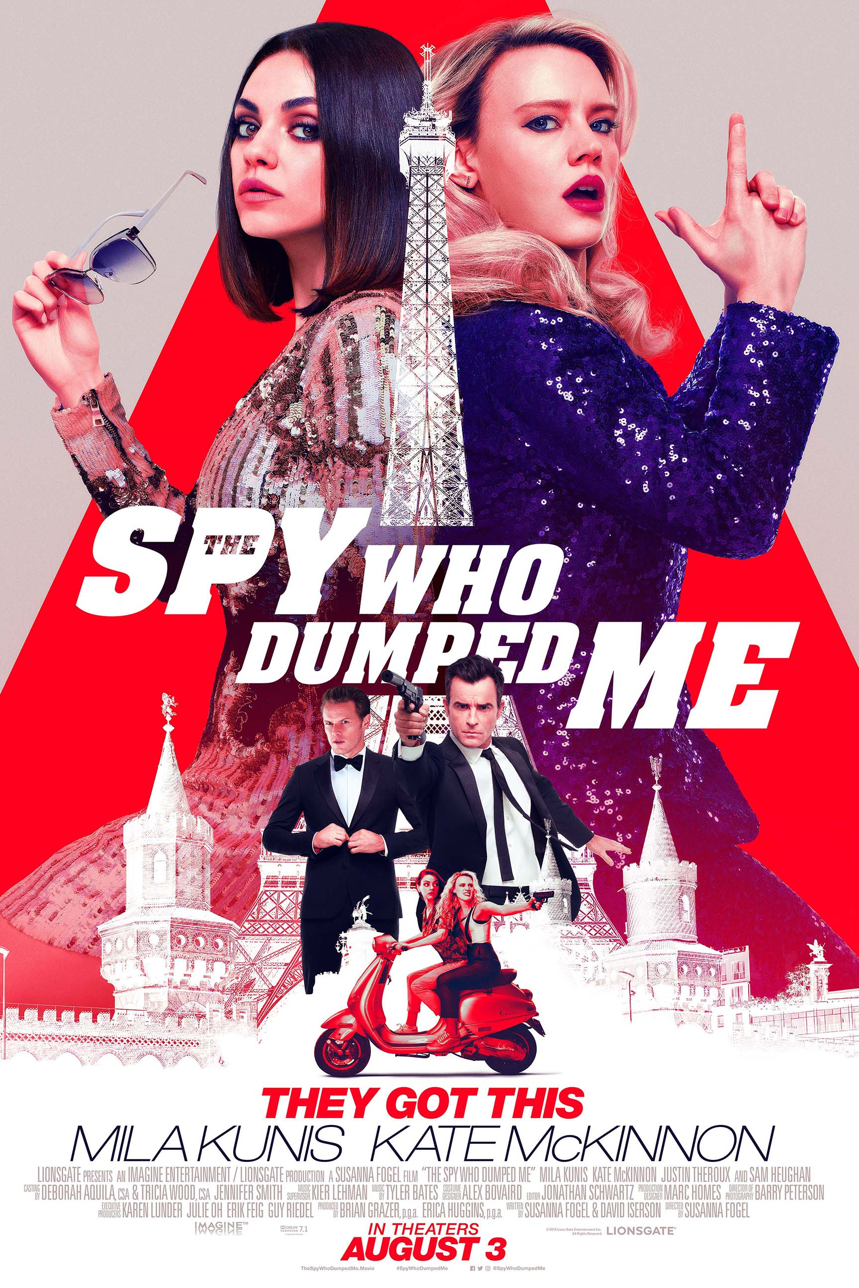 The Spy Who Dumped Me Sneak Preview Poster