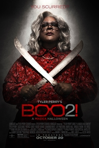 Poster for Tyler Perry's Boo 2! A Madea Halloween