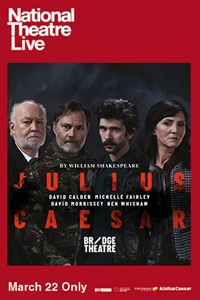 Poster for National Theatre Live: Julius Caesar