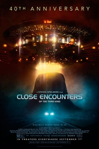 Poster for Close Encounters of the Third Kind 40th Anniversar