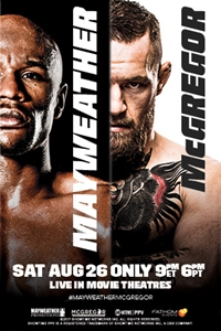 08.26.17 Mayweather vs. McGregor Poster
