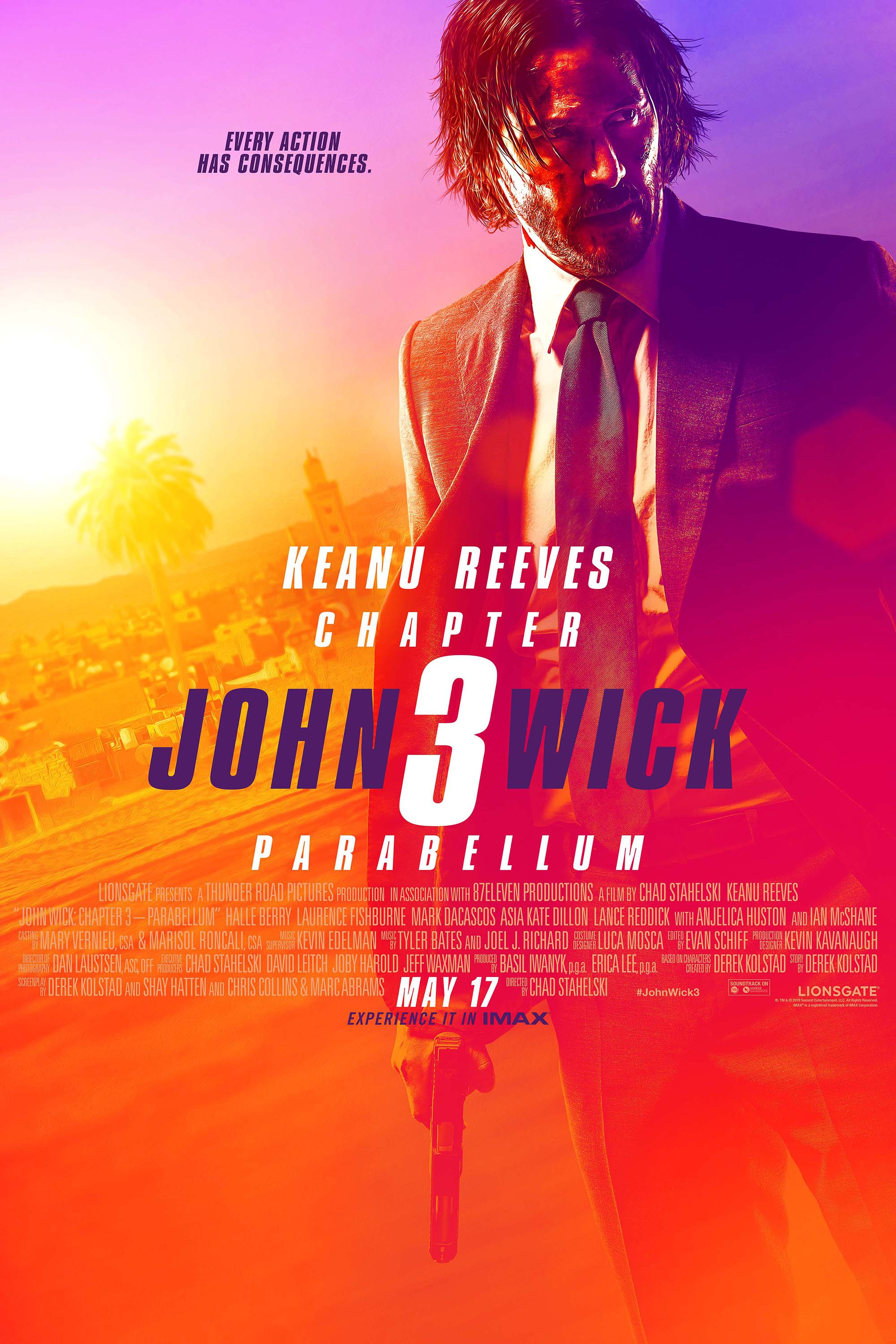 Poster for John Wick: Chapter 3 - Parabellum
