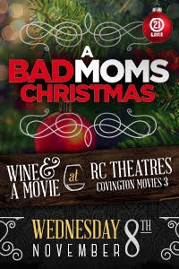 A Bad Moms Christmas Movie Poster.Bad Moms Christmas Wine A Movie Covington A