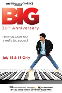 Poster for Big 30th Anniversary (1988) presented by TCM