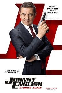 Johnny English Strikes Again Poster