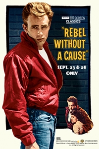 Poster for Rebel Without a Cause (1955) presented by TCM