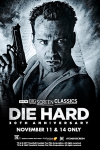 Poster for Die Hard 30th Anniversary (1988) presented by TCM