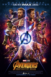 Infinity War: The IMAX 2D Experience Poster