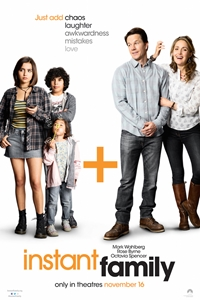 Caption Poster for Instant Family