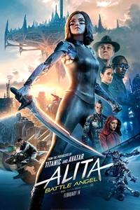 Alita: Battle Angel 3D Poster