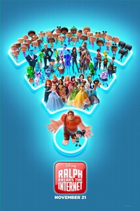 Ralph Breaks the Internet in Disney Digital 3D Poster