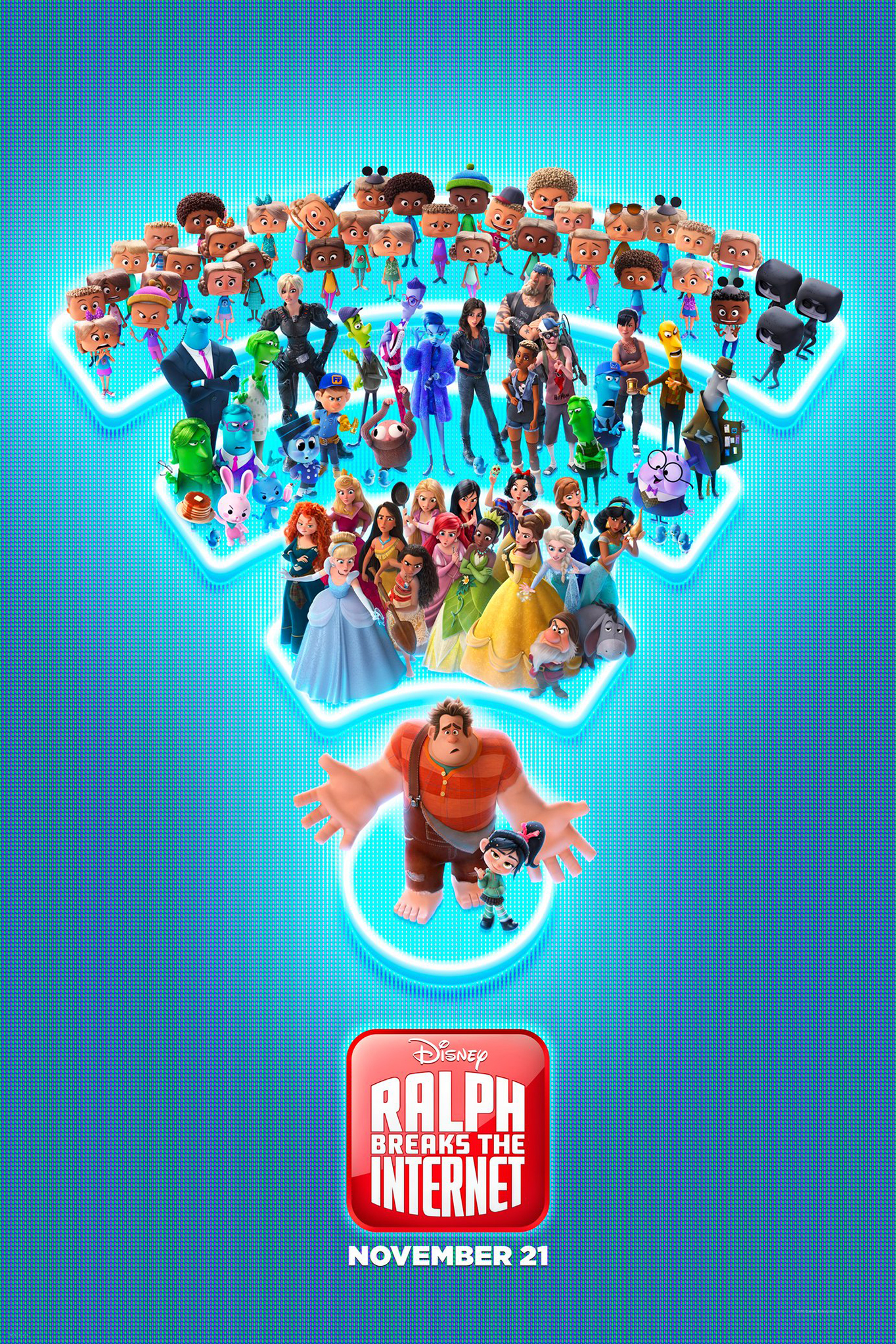 Ralph Breaks The Internet (2018) Poster