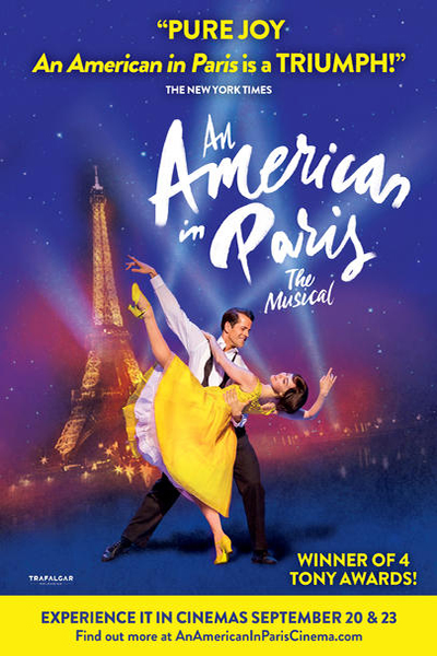 An American in Paris – The Musical Poster